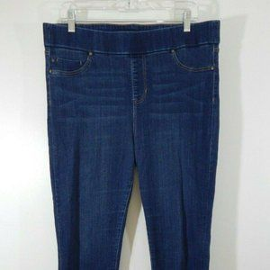 blue LIVERPOOL jeans skinny banded waist 14 32